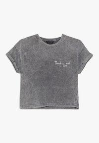 New Look 915 Generation - THANK U NEXT SLOGAN TEE  - Print T-shirt - dark grey - 0