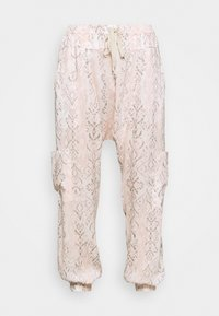 Free People - RISE TO THE SUN PRINTED - Tracksuit bottoms - pink - 4