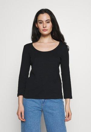TEE - Long sleeved top - noir