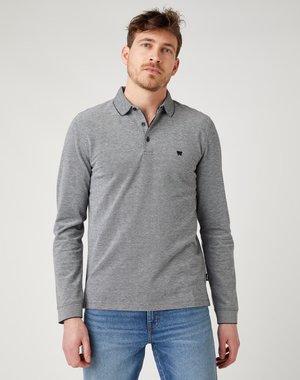 Polo shirt - real black