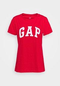 GAP - TEE - Camiseta estampada - pure red - 0