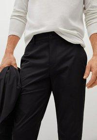 Mango - COOL - Trousers - schwarz - 3