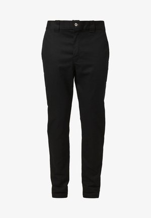 SLIM SKINNY WORK PANT - Pantalones chinos - black