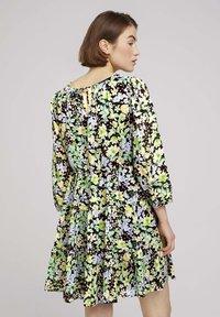 TOM TAILOR DENIM - LIGHT MINI DRESS - Day dress - multi-coloured - 2