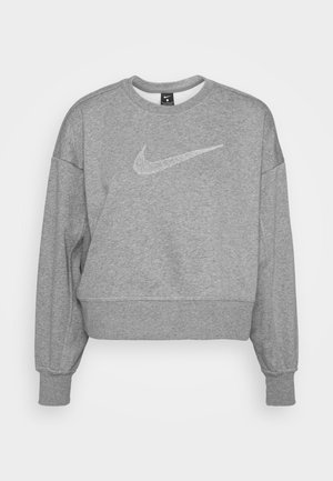 DRY GET FIT CREW - Sweatshirt - carbon heather/smoke grey