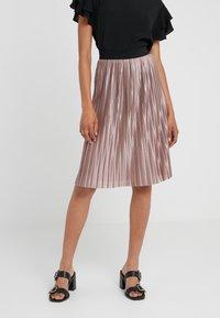 Bruuns Bazaar - PENNY CECILIE SKIRT - A-Linien-Rock - creamy rosa - 0