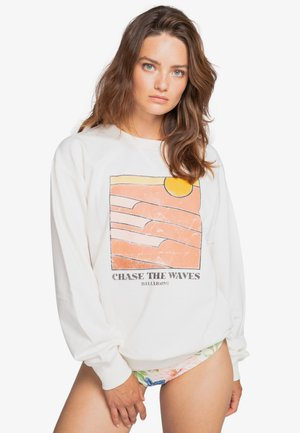 WAVE CHASE - Sweatshirt - salt crystal