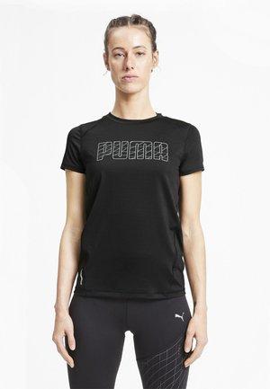 SHORT SLEEVE - Print T-shirt - puma black
