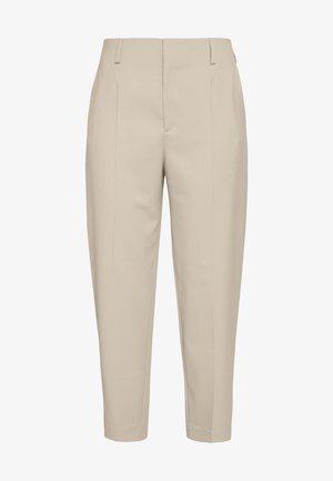 KARLIE TROUSER - Trousers - grey beige