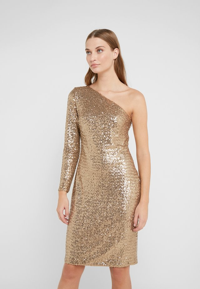 Cocktail dress / Party dress - white sand shine