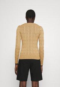 Polo Ralph Lauren - CLASSIC - Sweter - luxury tan - 2