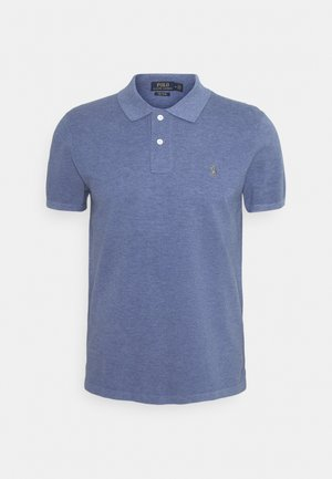 Poloshirt - lattice blue heat