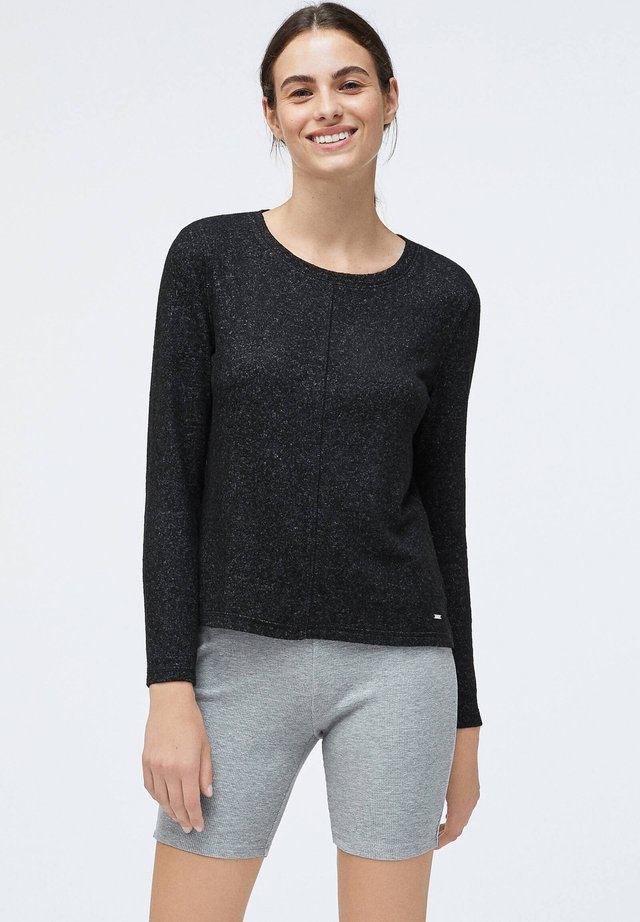 SOFT TOUCH - Sweter - black