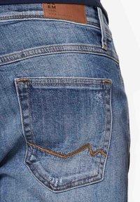 Harlem Soul - HARLEM  - Denim shorts - blue used - 5