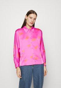 Cras - BIJOU - Button-down blouse - pink - 0