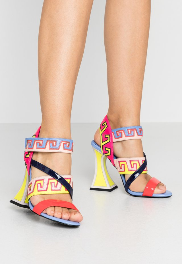 ESME - Sandales à talons hauts - multicolor