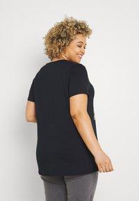 Simply Be - WILD AND FREE FOIL PRINT - Print T-shirt - black - 2