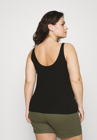 Selected Femme Curve - SLFNANNA TANK - Top - black - 2