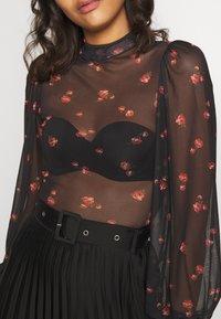 New Look - NINA ROSE - Long sleeved top - black - 5