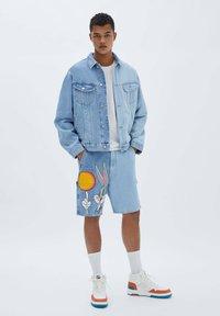 PULL&BEAR - SPACE JAM - Denim jacket - blue - 1