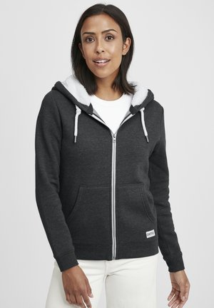 BINJA - Fleece jacket - dark grey melange