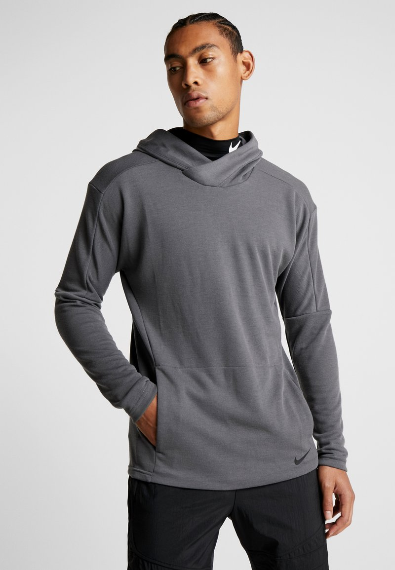 Nike Performance - Jersey con capucha - iron grey/black