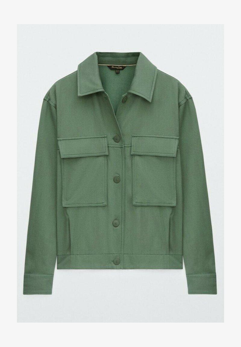 Massimo Dutti - Light jacket - green