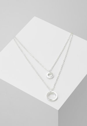 PORTAL DOUBLE NECK - Kaulakoru - silver-coloured
