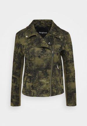 CHAQ DAHLIA - Summer jacket - verde caribe