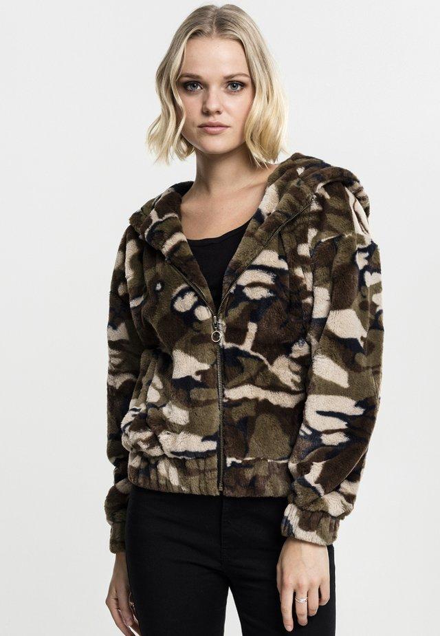 CAMO TEDDY  - Summer jacket - wood camo