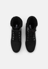 ALDO - RHAYMMA - Šněrovací kotníkové boty - black - 5