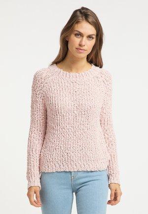 Sweter - rosa