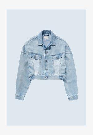 VOLT FLOW - Džínová bunda - denim
