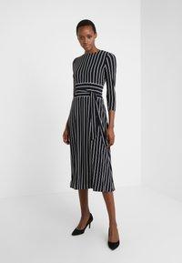 Lauren Ralph Lauren - Jersey dress - black/cream - 0