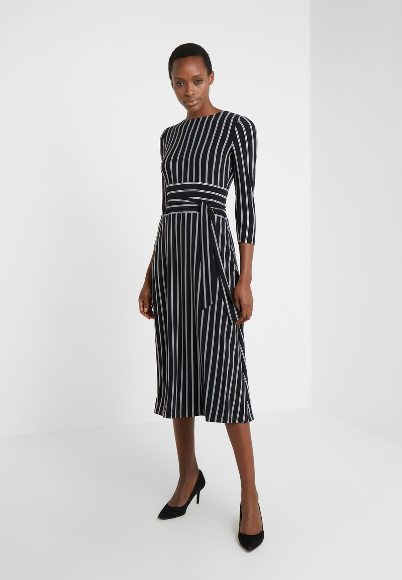 Lauren Ralph Lauren - Jersey dress - black/cream