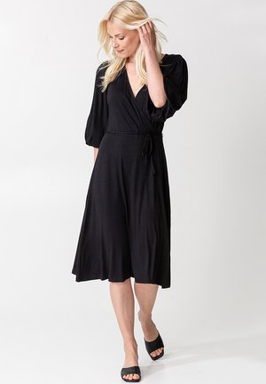 SENJA - Jersey dress - black