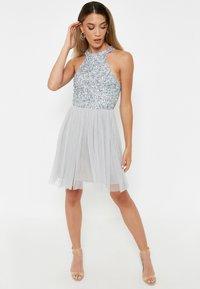 BEAUUT - Cocktail dress / Party dress - light grey - 1