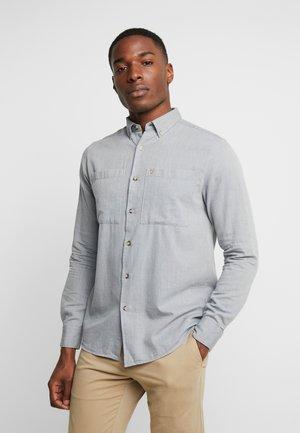 JEAN HERRINGBONE - Shirt - grey