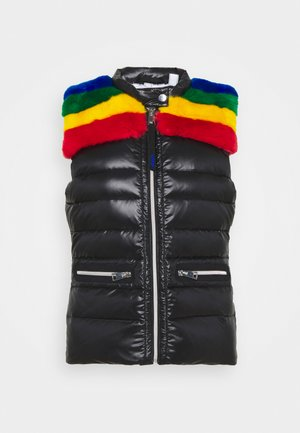 BEAM LIGHT VEST - Waistcoat - black