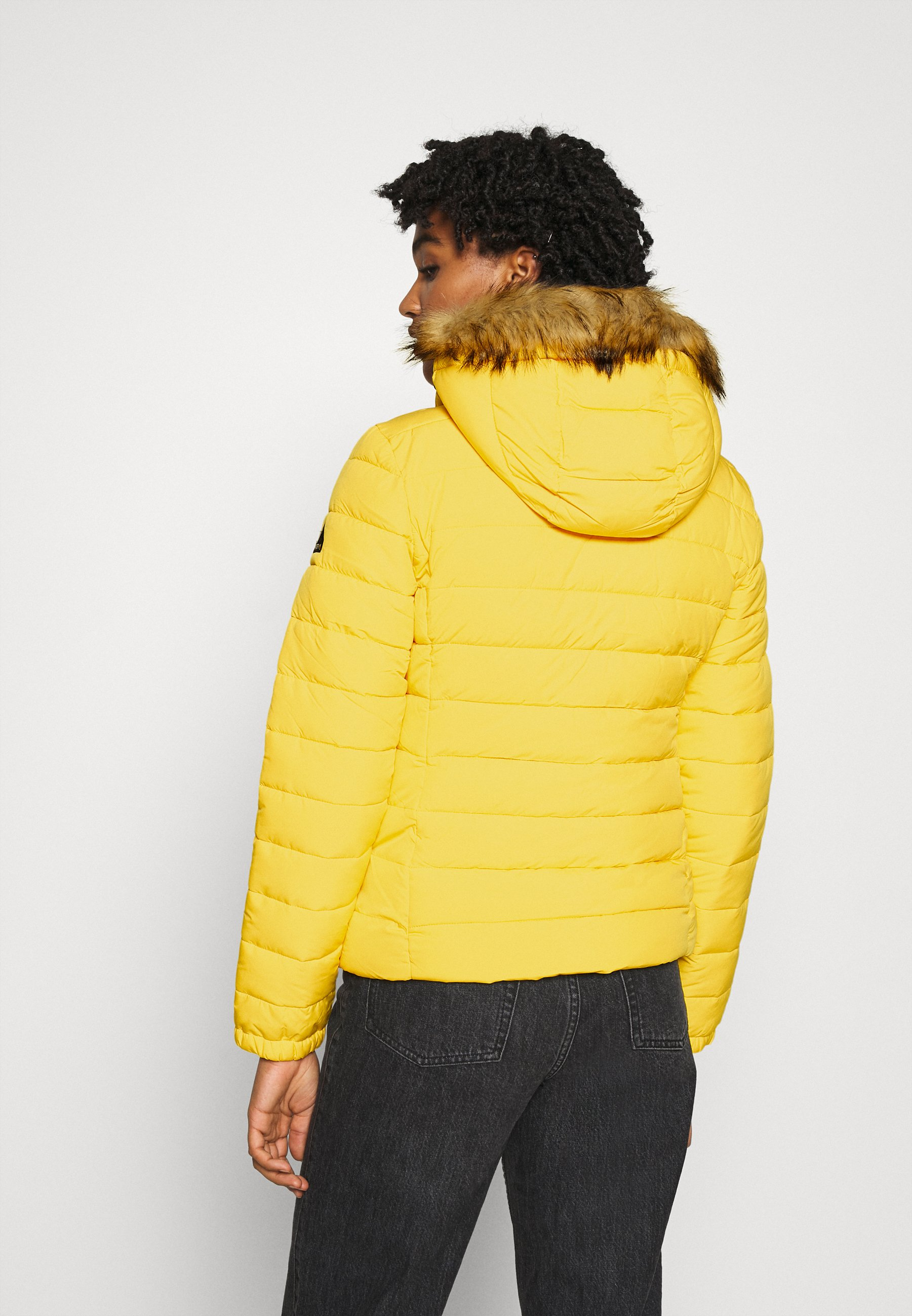 Superdry CLASSIC FUJI JACKET Winterjacke nautical yellow/gelb