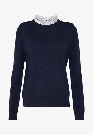 JDYCADDY  - Sweter - navy blazer/w. lace