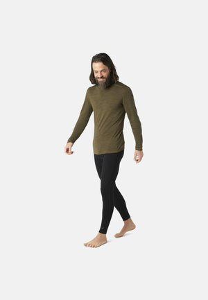 MIDWEIGHT 250 BASELAYER CREW - Long sleeved top - military olive heather