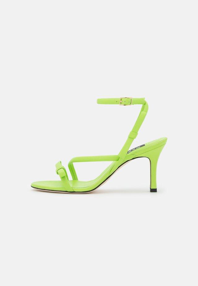 HEEL - Sandals - green