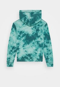 Abercrombie & Fitch - TWIST FRONT WASH - Hoodie - teal - 1