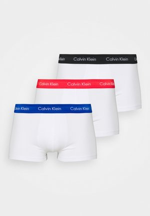 STRETCH LOW RISE TRUNK 3 PACK - Panties - white
