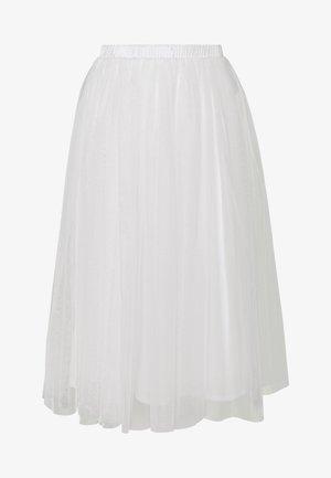 VAL SKIRT - Áčková sukně - white