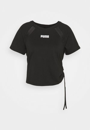 PAMELA REIF X PUMA COLLECTION  BOXY TEE - T-Shirt print - black