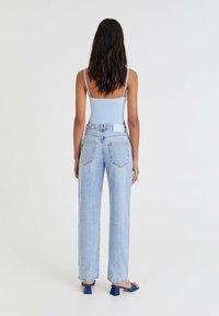 PULL&BEAR - Straight leg jeans - light blue - 2