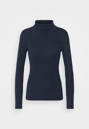XINVA SLIM TURTLE LONG SLEEVE C - Long sleeved top - sartho blue
