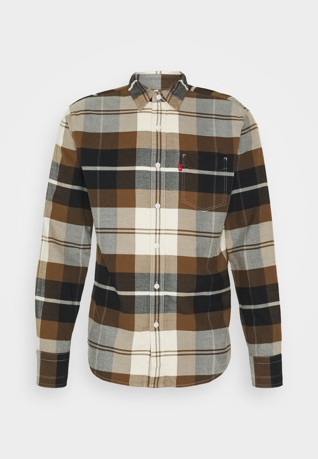 SUNSET POCKET STANDARD - Shirt - brophy almond milk